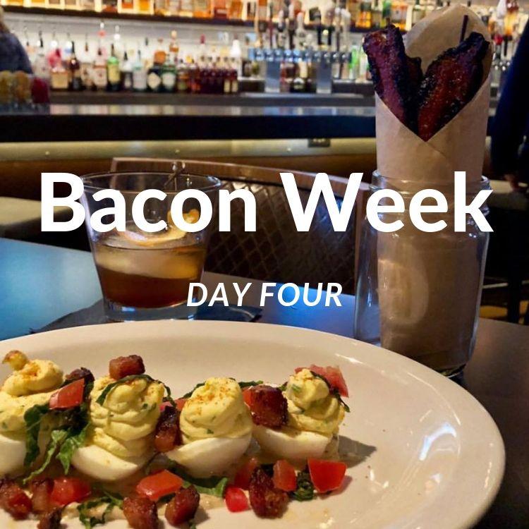 Bacon Week Day Four - Bacon Jar & Deviled Eggs