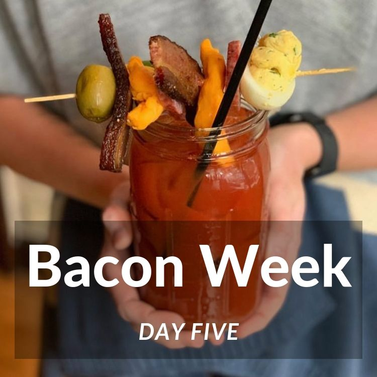 Bacon Week Day Five - Big Ass Bloody Mary with Thick Cut Bacon