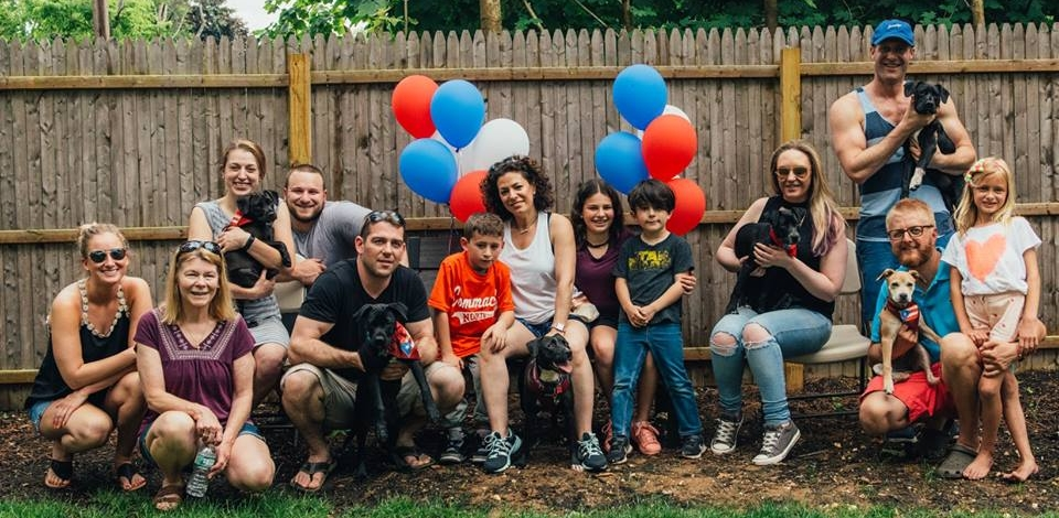 Althea's Family Reunion - On June 11th, 2018, Althea and her 5 puppies reunited for the first time since their freedom flights from Puerto Rico to New York— and they brought their adopted families!