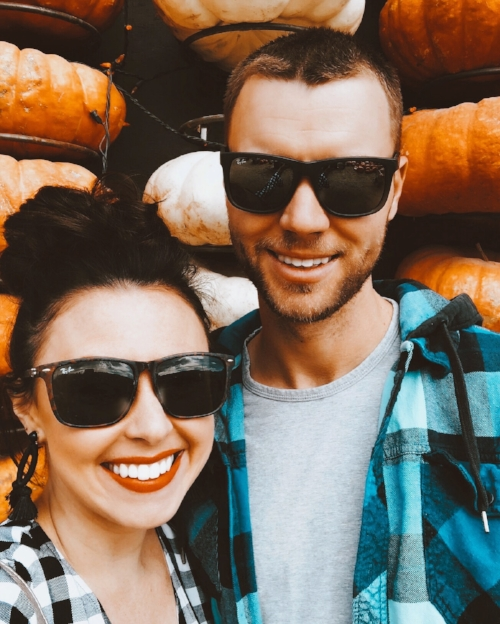Day Date at the Kuwahara Farms Pumpkin Patch in October