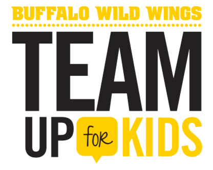 During the month of October, guests can donate at any Buffalo Wild Wings restaurant to support our Club sports programmings. Additionally, $1 from every in-restaurant sauce and seasoning purchase will support team sports at our Clubs!