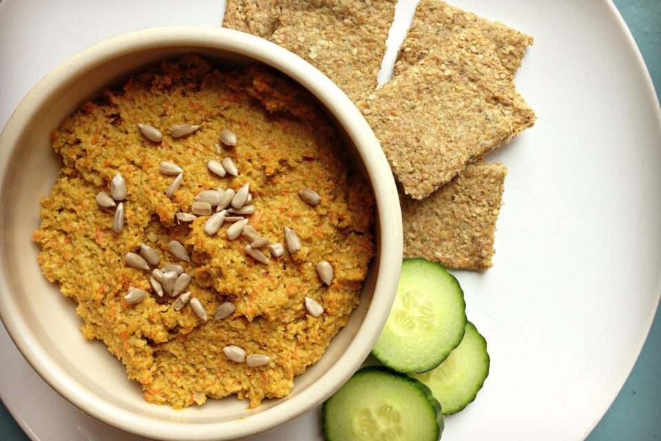 Curried Sunflower Seed Spread