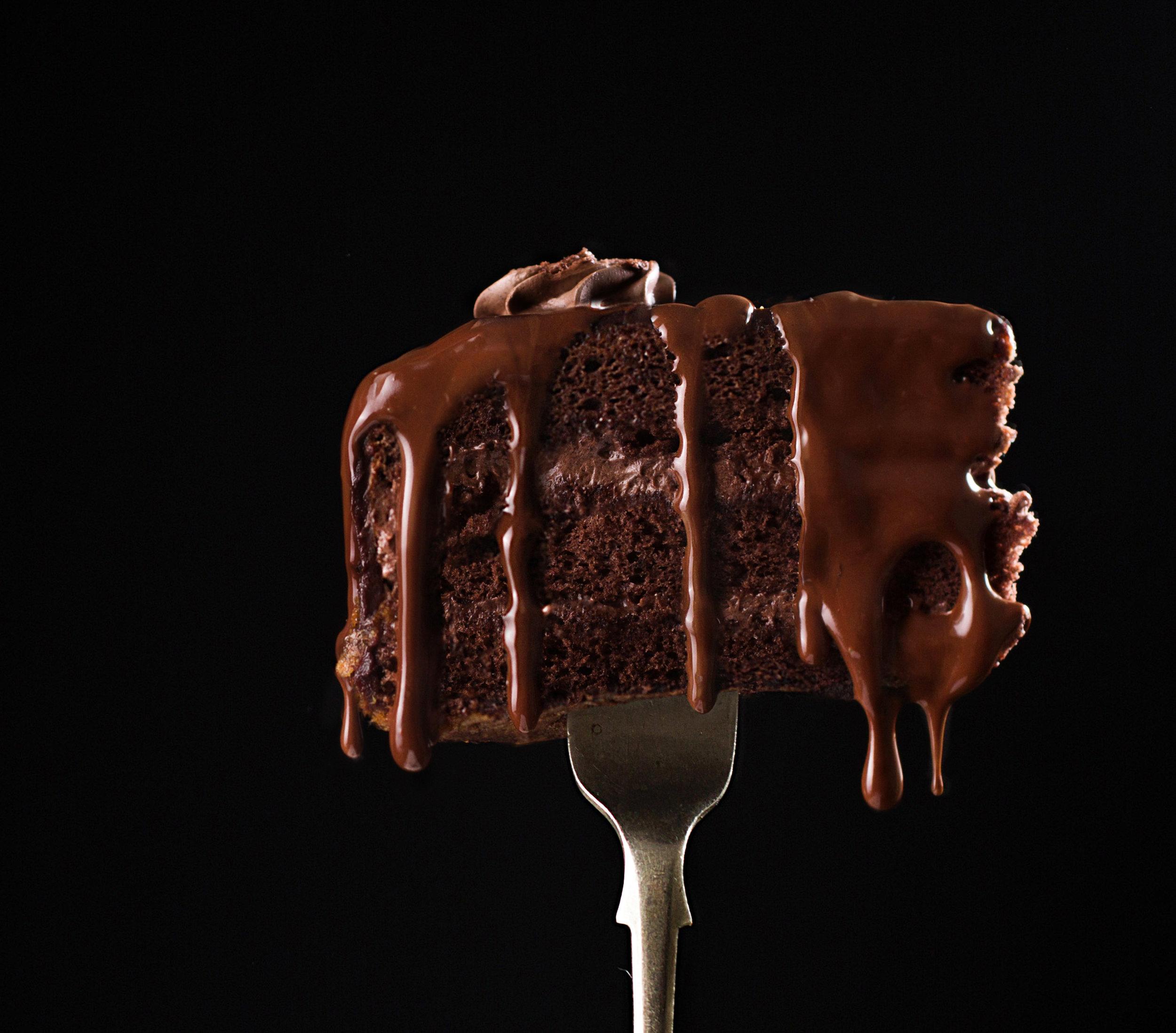 Chocolate cake on fork.jpg