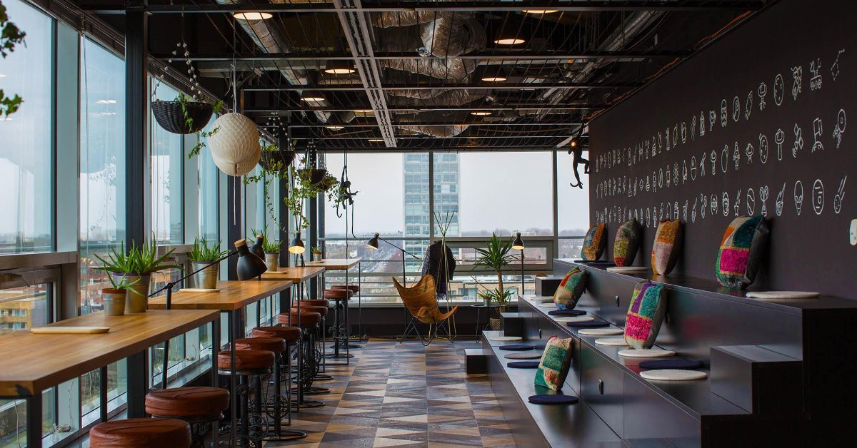 """COMMON GROUNDS - """"One membership. Coworking everywhere."""" Common Grounds geeft je toegang tot inspirerende co-work spaces in Amsterdam."""