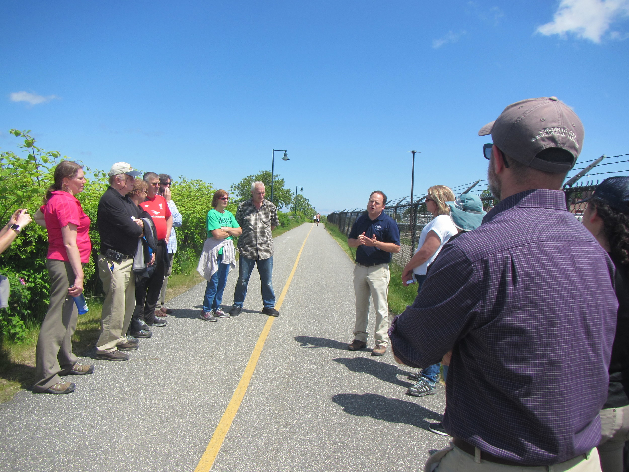 Water Resources Infrastructure Tour of Back Cove - June 6, 2019