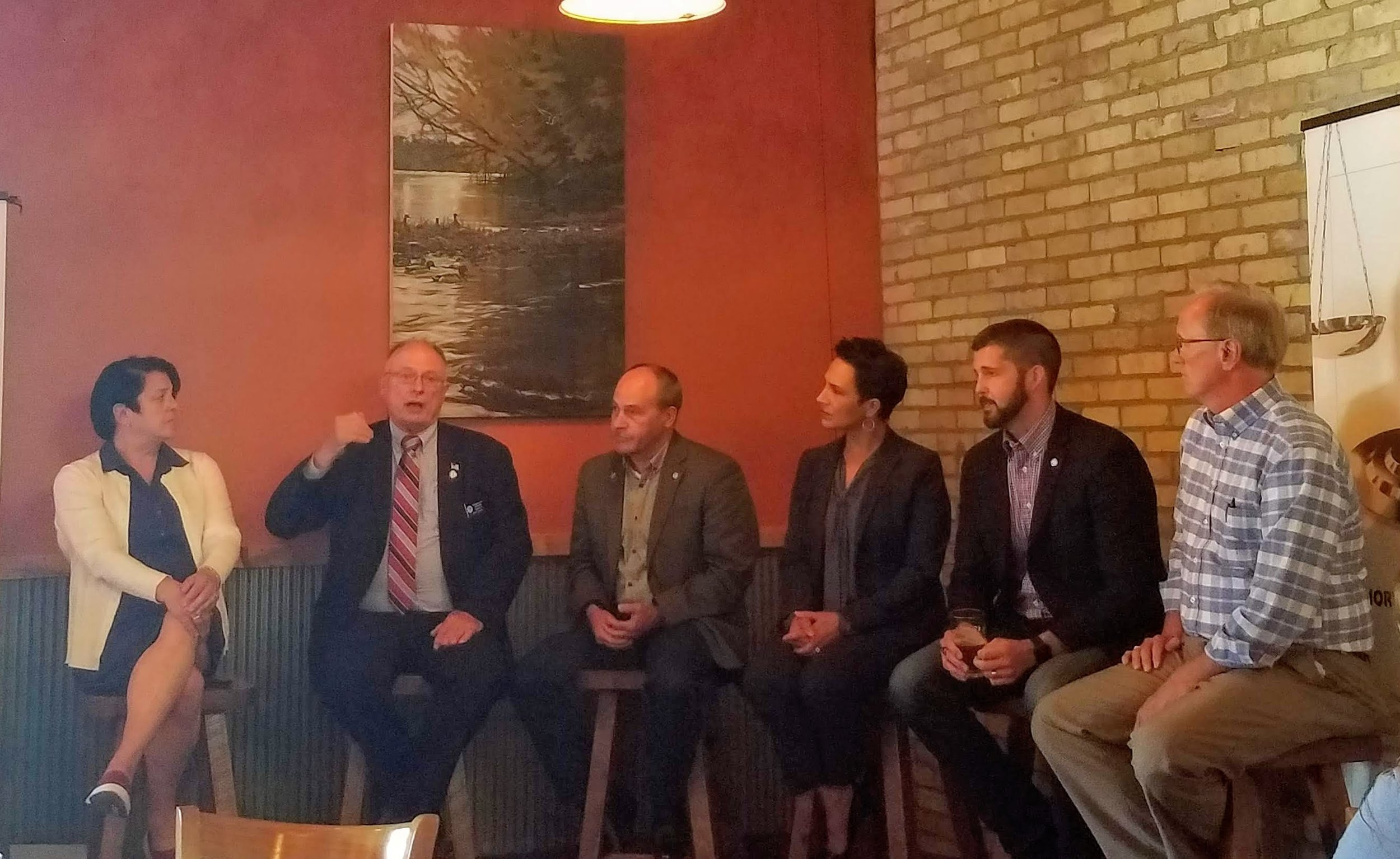 Beaver Island Q&A With Central MN State Reps