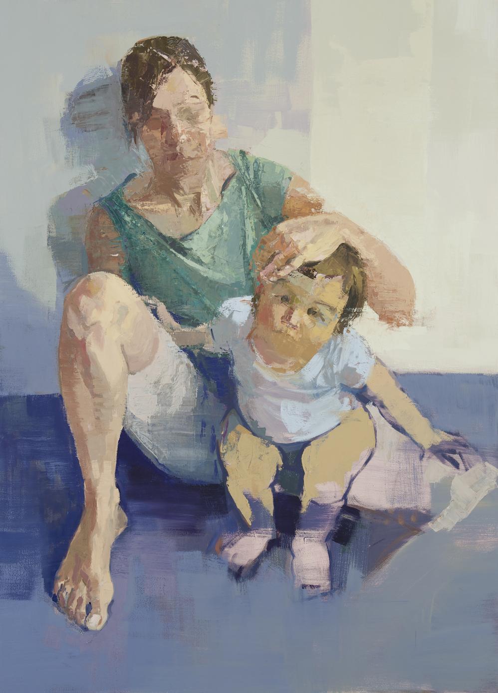Self-portrait with Bea