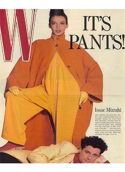Isaac Mizrahi, 1988