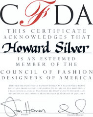 CFDA Induction, 2001