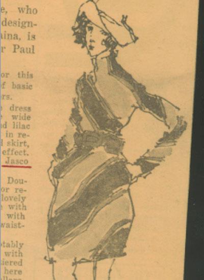 Arthur Doucette for Paul Parnes, 1949