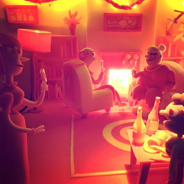A little peek through the window on our Belgian lotto spot (link in by-oh) #stopmotion #animation