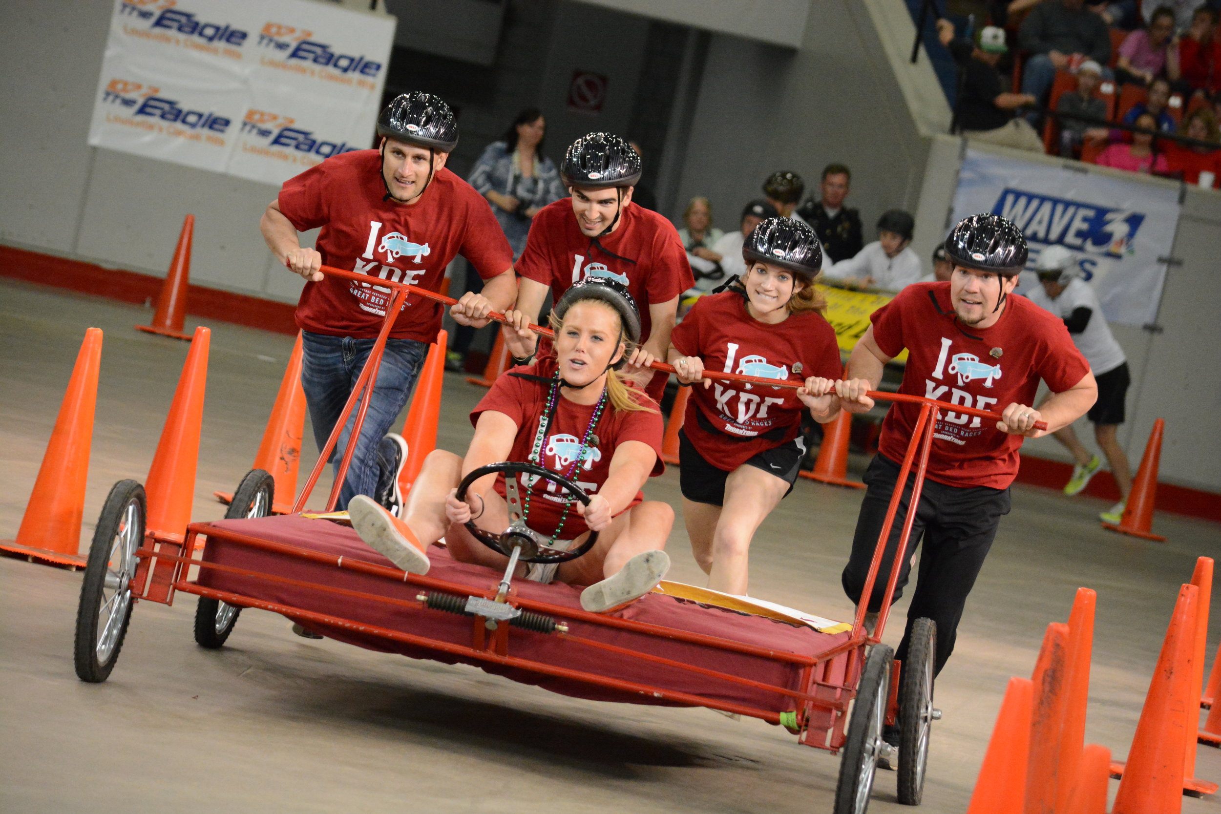 Great Bed Races at Broadbent Arena