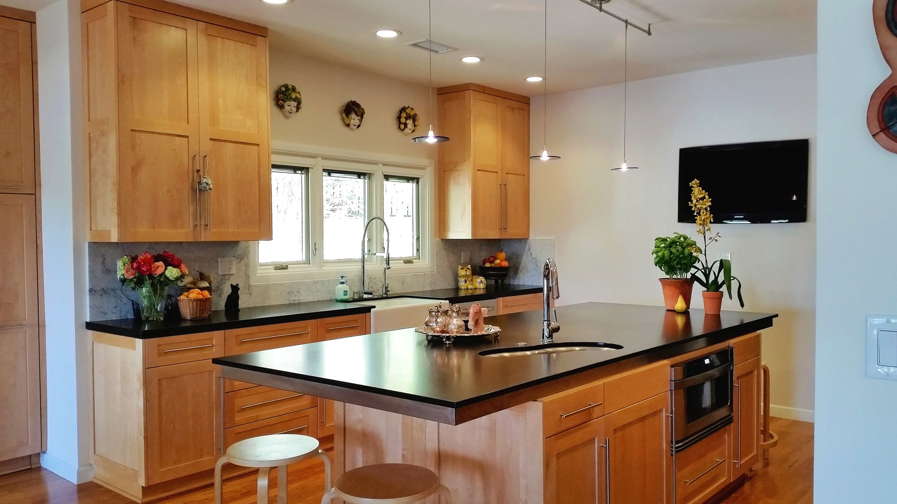 2-island-kitchen-recessed-lighting-wood-carawan-dee.jpg