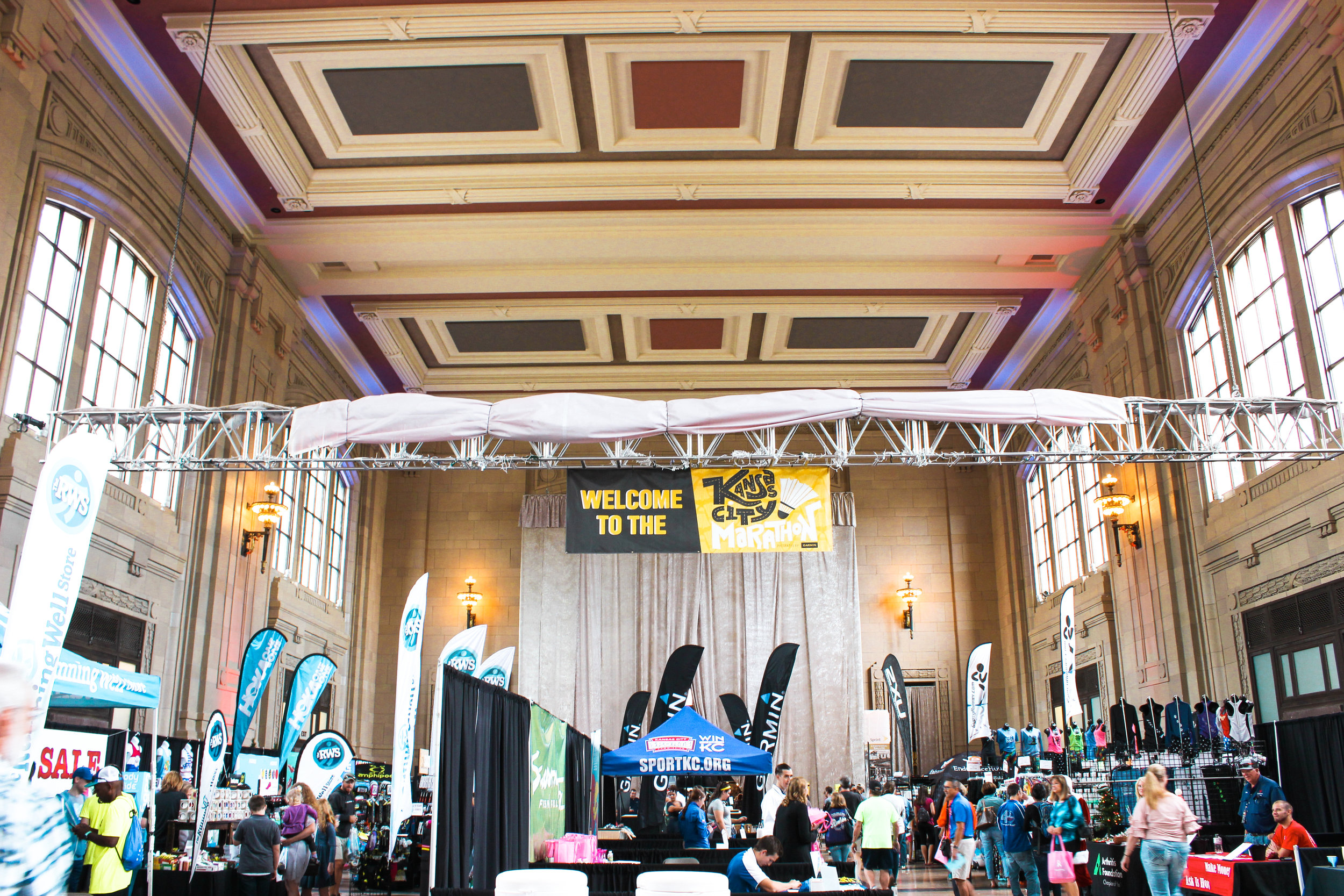 Packet pickUp & the health and fitness expo -