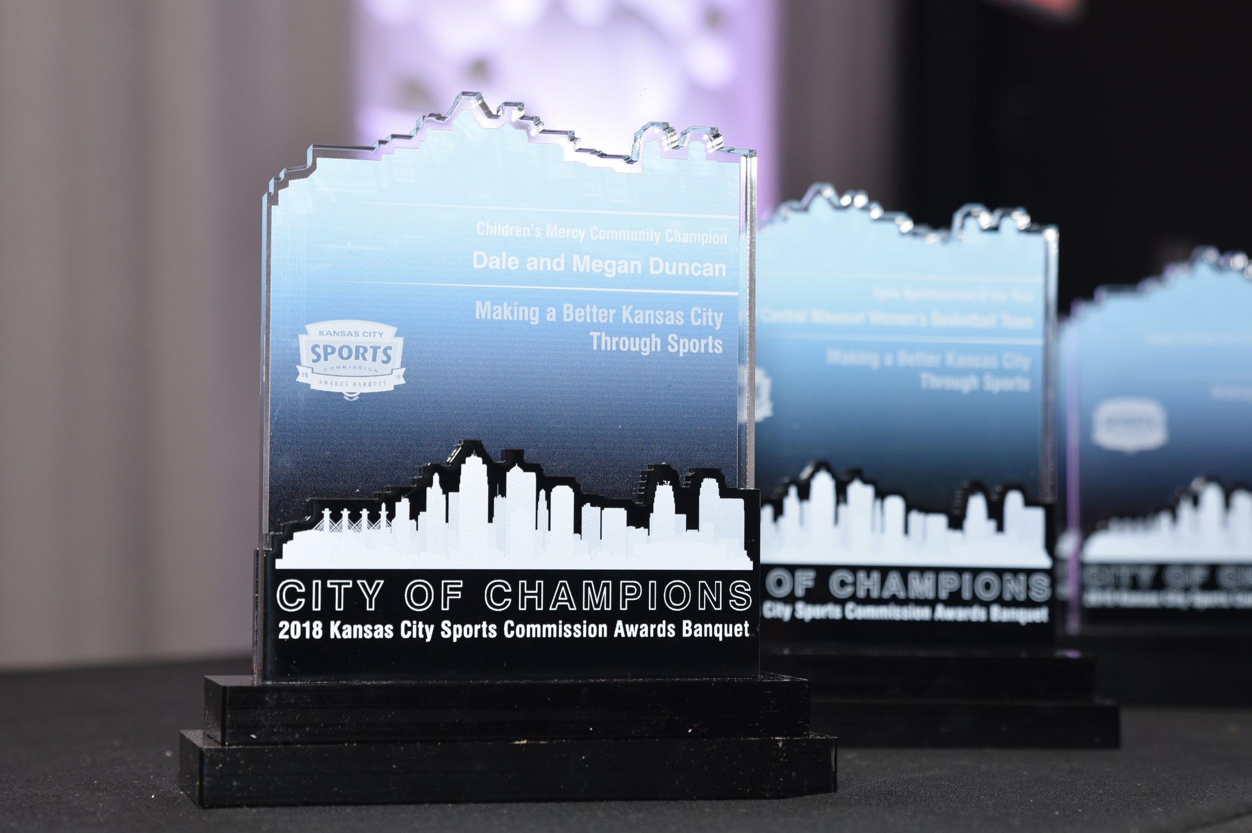 Awards information -