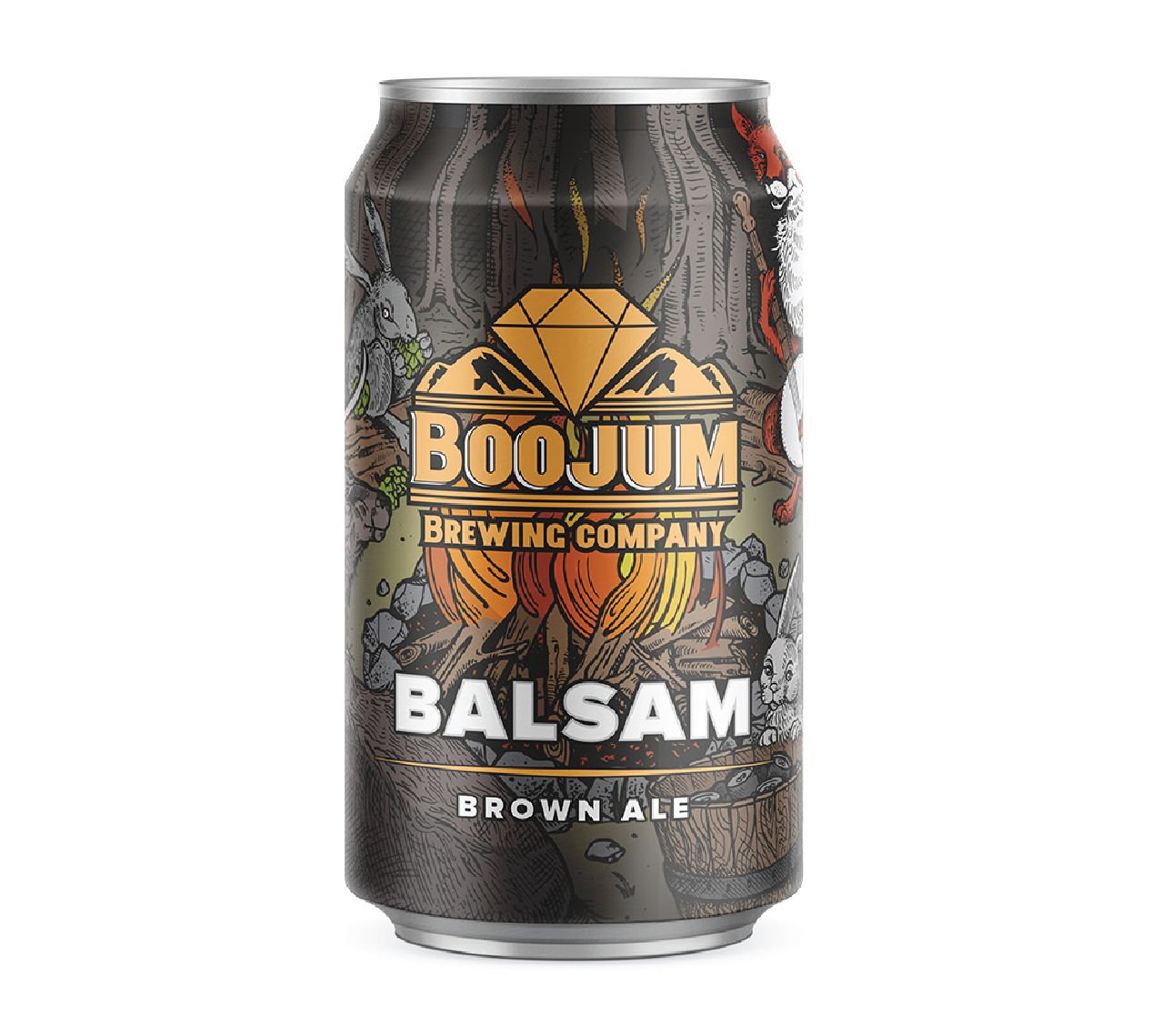 A welcome companion, this beautiful brown ale is flavorful, approachable & easy going. A little bit of roast & a little bit of toast with a nutty, caramel flavor and a smooth, light finish make you want to gather round & crack one open.  5% 18 IBUS