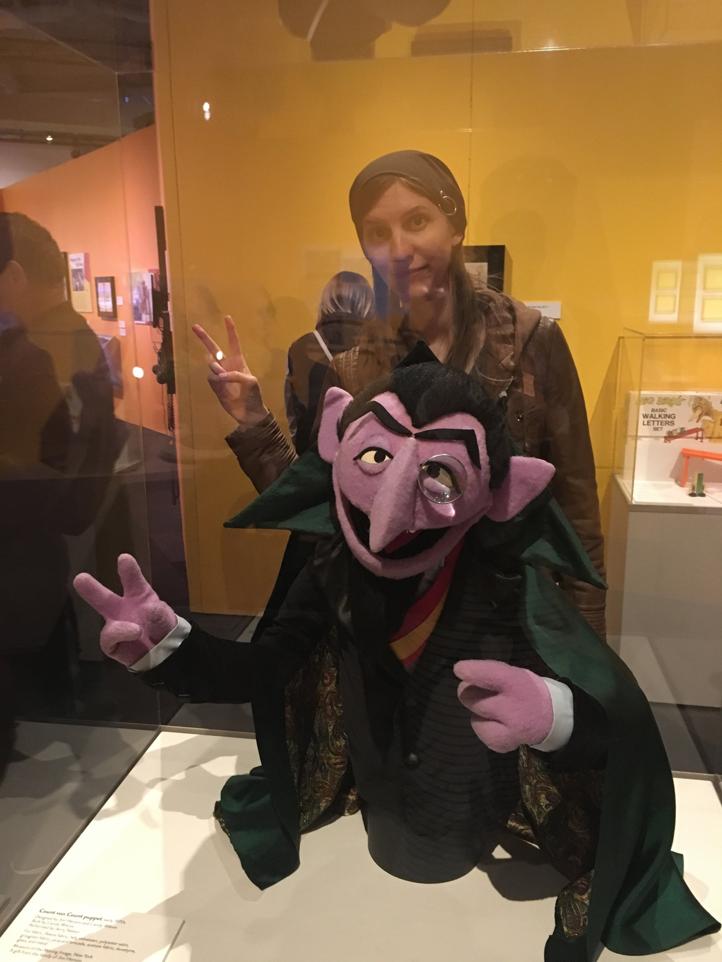 Kickin' it with the Count at MoPop!
