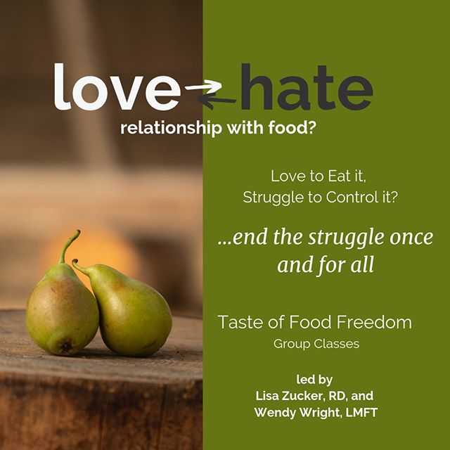 "I am so excited to announce this class!⠀⠀⠀⠀⠀⠀⠀⠀⠀ Lisa Zucker, RD, in Louisville, CO, has invited me to help lead her Taste of Food Freedom Classes this fall!⠀⠀⠀⠀⠀⠀⠀⠀⠀ ⠀⠀⠀⠀⠀⠀⠀⠀⠀ follow the link in my bio!⠀⠀⠀⠀⠀⠀⠀⠀⠀ ⠀⠀⠀⠀⠀⠀⠀⠀⠀ Here's more info:⠀⠀⠀⠀⠀⠀⠀⠀⠀ BRING JOY BACK TO EATING…⠀⠀⠀⠀⠀⠀⠀⠀⠀ IF YOU:⠀⠀⠀⠀⠀⠀⠀⠀⠀ Experience anxiety around food⠀⠀⠀⠀⠀⠀⠀⠀⠀ Can't stand the thought of just one more diet⠀⠀⠀⠀⠀⠀⠀⠀⠀ Are nervous that your kids will grow up with anxiety around foods⠀⠀⠀⠀⠀⠀⠀⠀⠀ Are sick of logging and counting every morsel of food⠀⠀⠀⠀⠀⠀⠀⠀⠀ Are tired of running out of points/calories/grams of carbs before you feel full⠀⠀⠀⠀⠀⠀⠀⠀⠀ Let the scale dictate your mood or are preoccupied with the scale⠀⠀⠀⠀⠀⠀⠀⠀⠀ THIS PROGRAM CAN HELP YOU⠀⠀⠀⠀⠀⠀⠀⠀⠀ This program is a led by Lisa Zucker, Registered Dietitian, based in Louisville, CO, and Wendy Wright, Licensed Marriage and Family Therapist, Certified Eating Disorder Specialist and Certified Intuitive Eating Counselor, based in Denver, CO. ⠀⠀⠀⠀⠀⠀⠀⠀⠀ It is an 8-week VIRTUAL GROUP CLASS  held starting in September 2019. ⠀⠀⠀⠀⠀⠀⠀⠀⠀ The program follows the evidence-based "" Intuitive Eating"" approach to nutrition and health. ⠀⠀⠀⠀⠀⠀⠀⠀⠀ ⠀⠀⠀⠀⠀⠀⠀⠀⠀ ⠀⠀⠀⠀⠀⠀⠀⠀⠀ ⠀⠀⠀⠀⠀⠀⠀⠀⠀ ⠀⠀⠀⠀⠀⠀⠀⠀⠀ #financialwellness #financialtherapy #financialtherapist⠀⠀⠀⠀⠀⠀⠀⠀⠀ #money #finance #wellness #budget⠀⠀⠀⠀⠀⠀⠀⠀⠀ #moneyandmilkshakes #personalfinance⠀⠀⠀⠀⠀⠀⠀⠀⠀ #foodfreedom #intuitiveeating #eatingdisorderrecovery ⠀⠀⠀⠀⠀⠀⠀⠀⠀ #recovery #edrecovery #haes #mentalhealth⠀⠀⠀⠀⠀⠀⠀⠀⠀ #wholelifewellness"