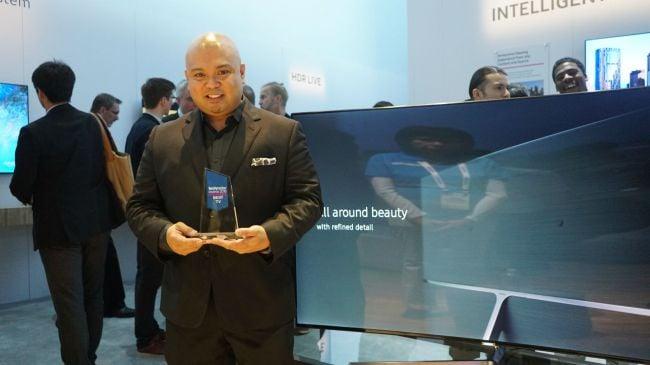 TechRadar Editor's Choice award for Best TV goes to Samsung SUHD Quantum Dot