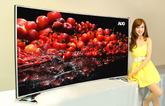 AUO announced a new range of Quantum Dot TVs at CITE 2015