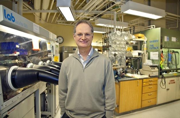 Berkeley Lab director and Nanosys co-founder Paul Alivisatos  (Photo by Roy Kaltschmidt/Berkeley Lab)
