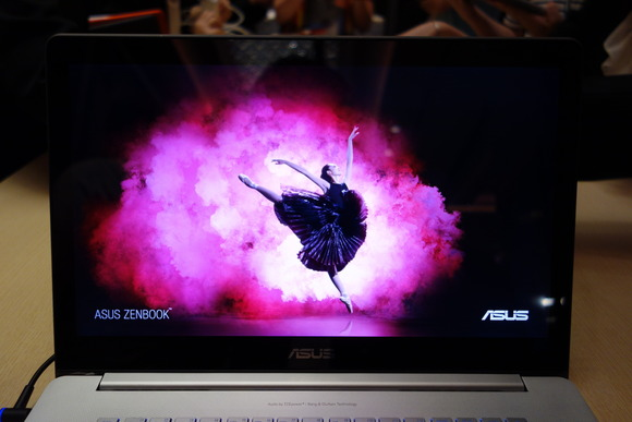 ASUS Zenbook display with Quantum Dots from Nanosys and 3M