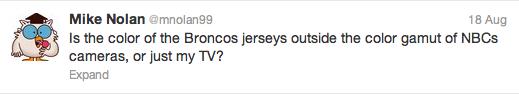 Broncos tweet