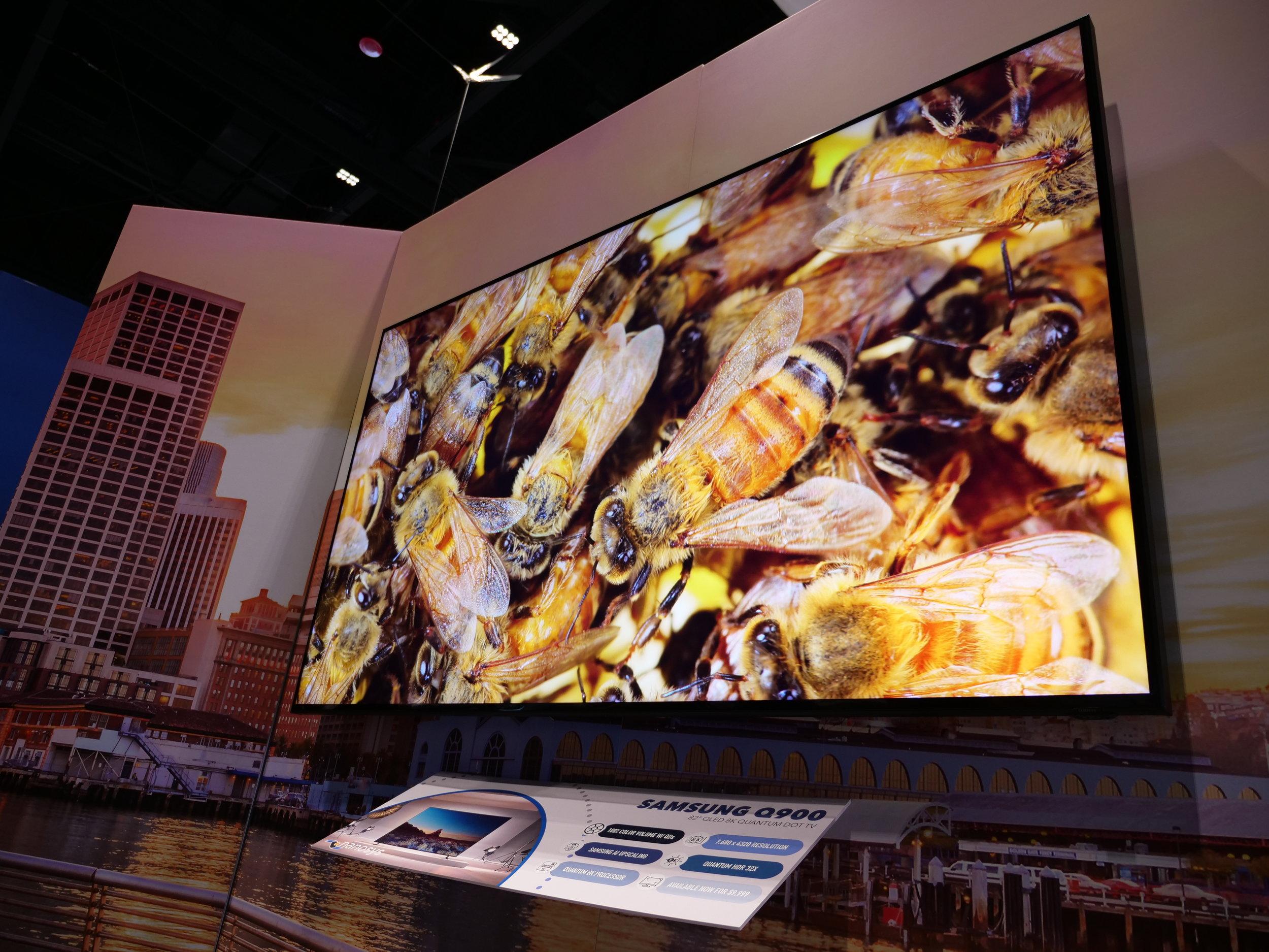 "82"" Samsung Q900 8K QLED TV"