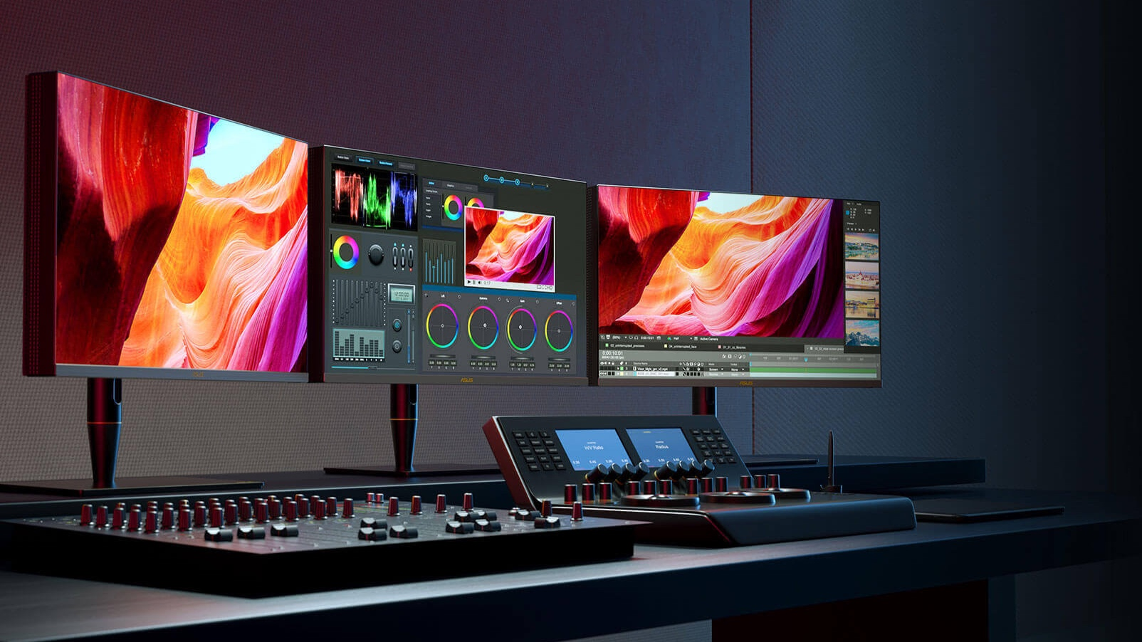 ASUS ProArt PA32UCX with Nanosys Quantum Dot technology in action