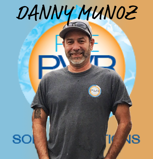 Danny Munoz is our Lead Technician and has been with us from the start. With many years of experience, Danny is your go-to man for variable speed pump installation, plumbing your pool equipment, and solar installation.