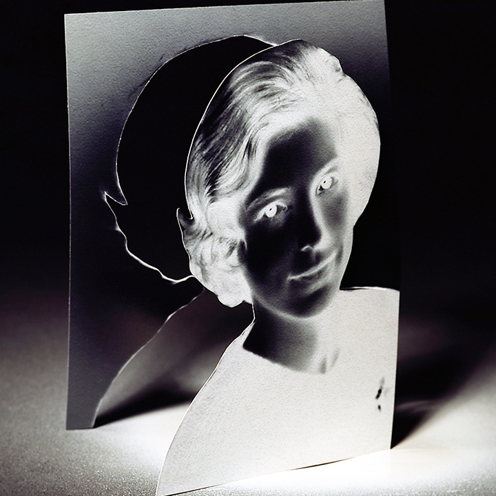 """""""Her Story #1"""", c-print, 16 x 16 inches."""