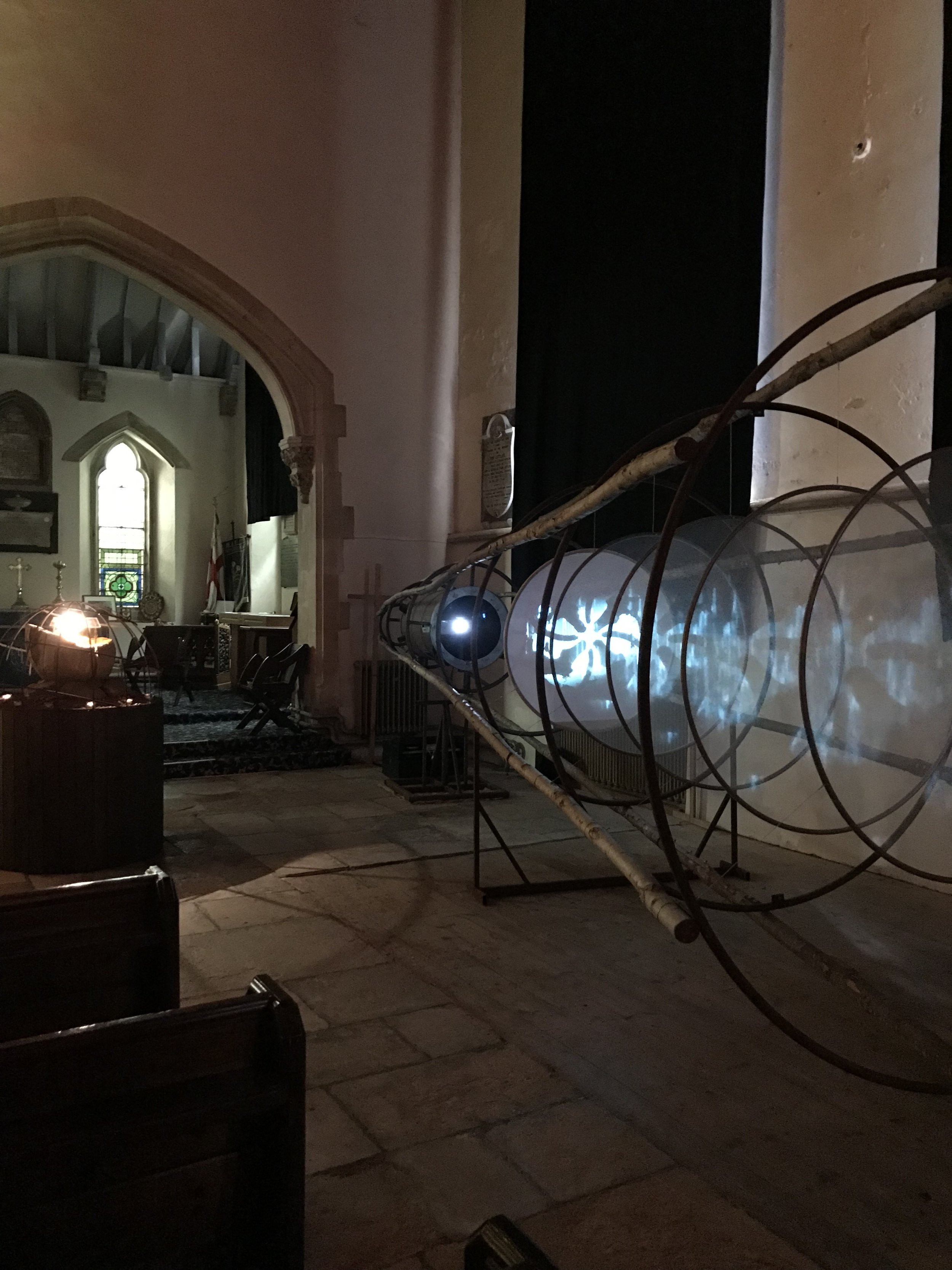 Sean Harris' Installation at All Saints Church
