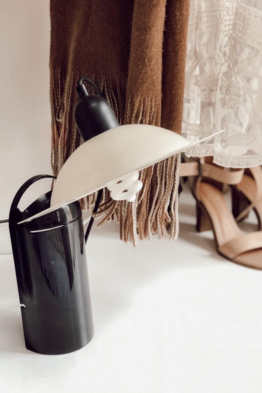 Vintage lamp we found on gumtree.