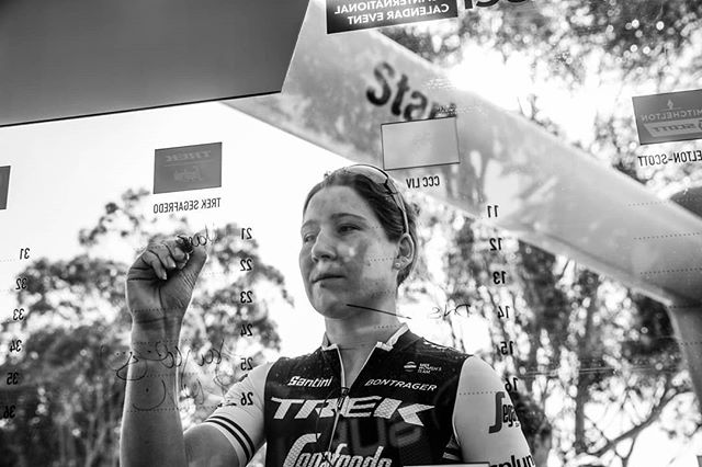 Hey hey! @retta.hanson here signing on and taking over @trekbikesau today. Follow along as the @treksegafredo women prepare for the final day of racing here at @tourdownunder. 📸@jojoharperphoto . . . #trekbikes #cycling #tourdownunder #showyourstripes