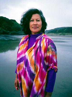 Merata Mita in 1989. Photo/Sally Tagg