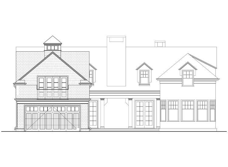 Computer-generated Elevation of Coronado House