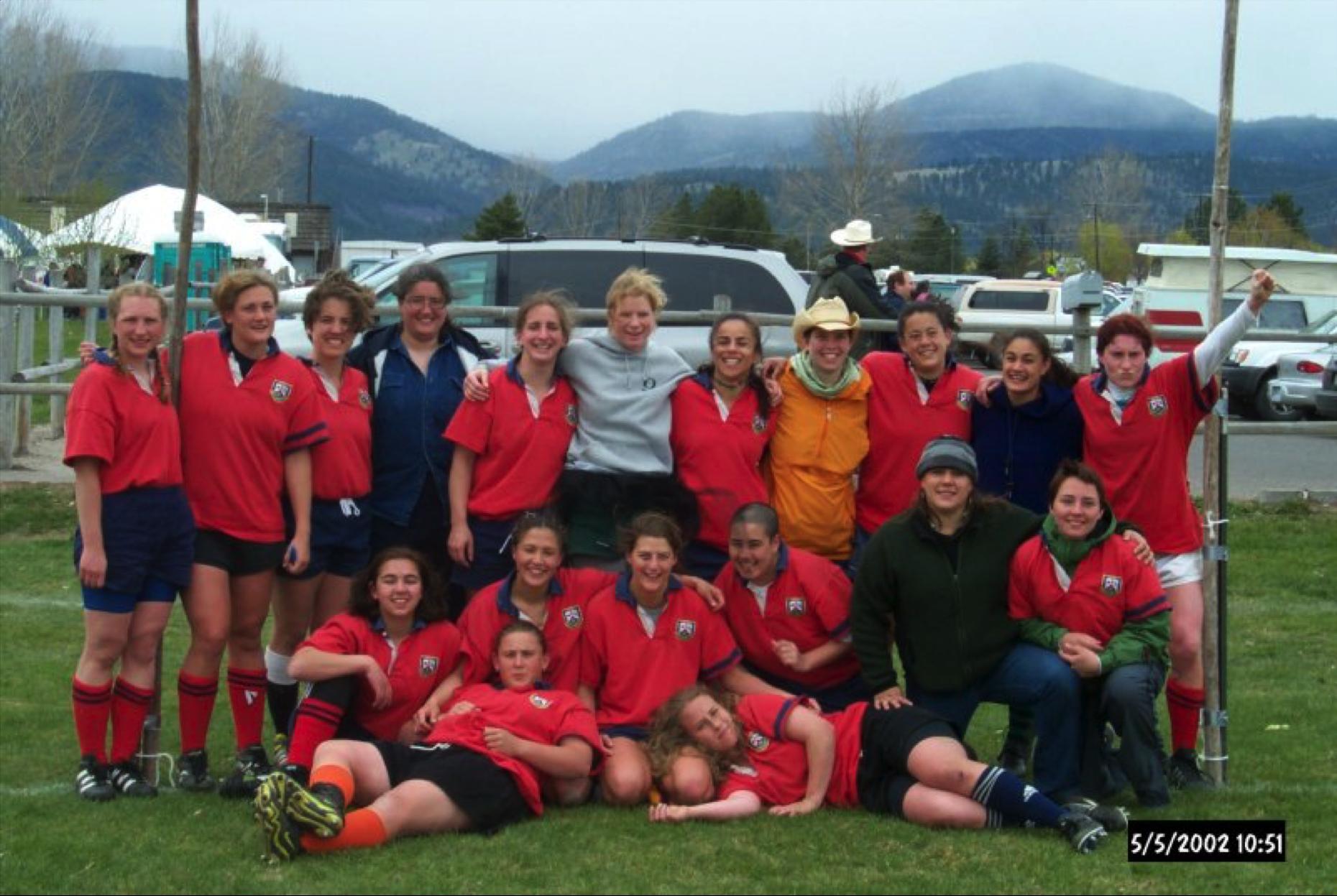 ORSU Women's Team circa 2002