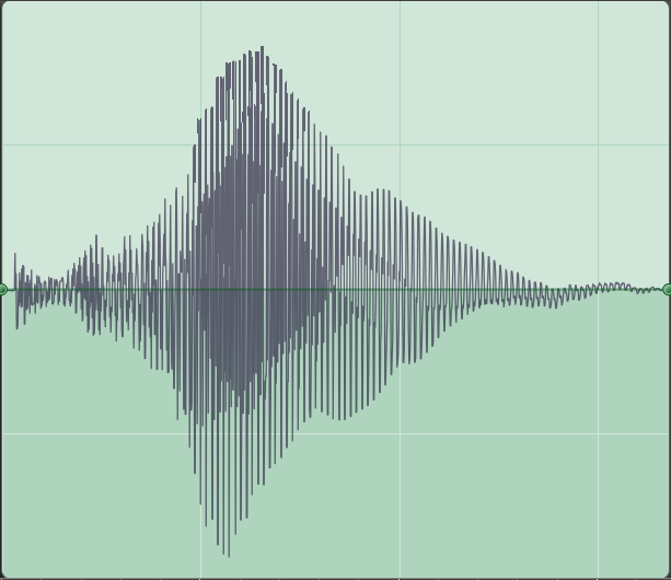 Spectrum - Frequency representation of the same short flute tone: ShortFluteTone_Spectral