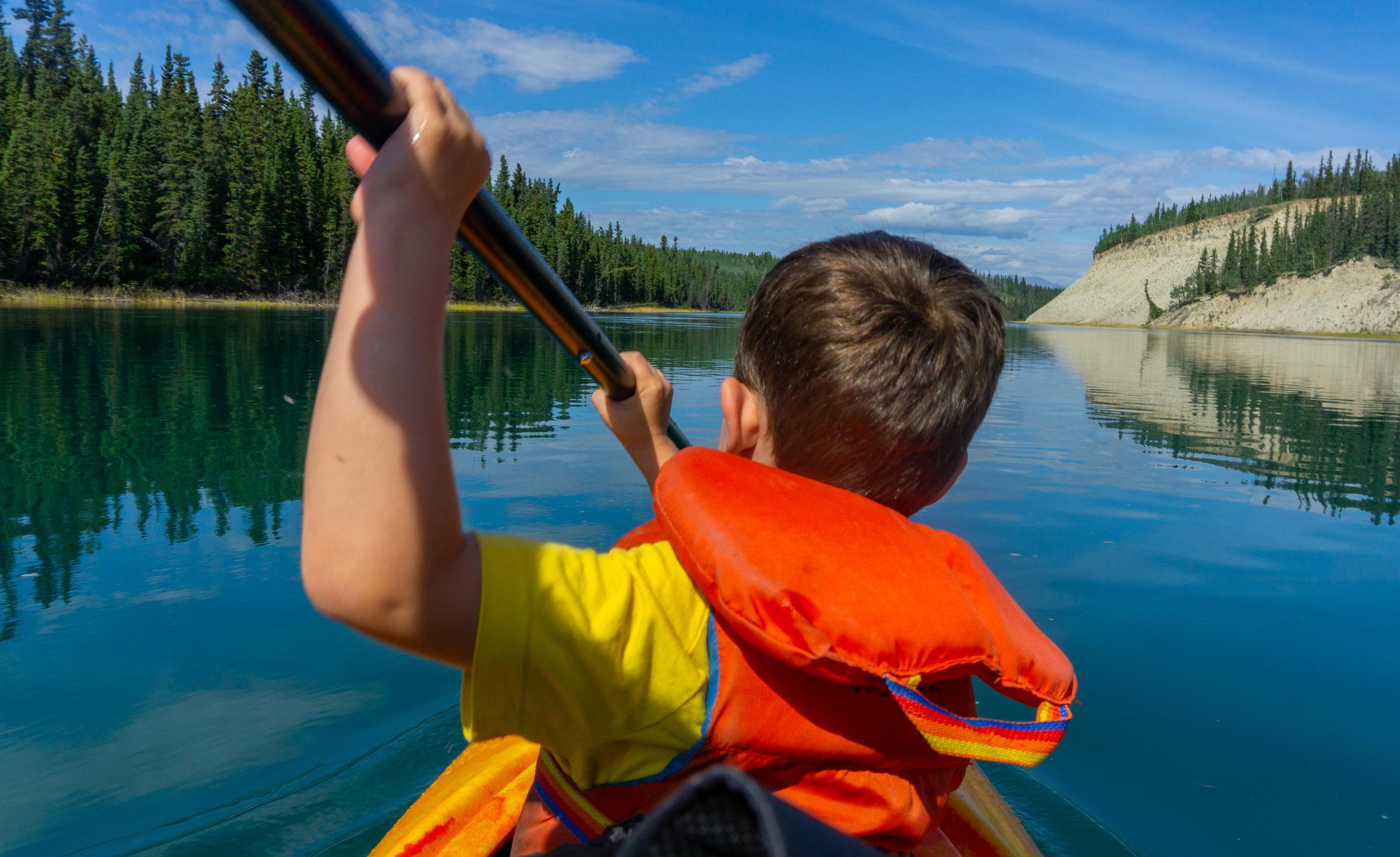 Yukon River Aug 2019