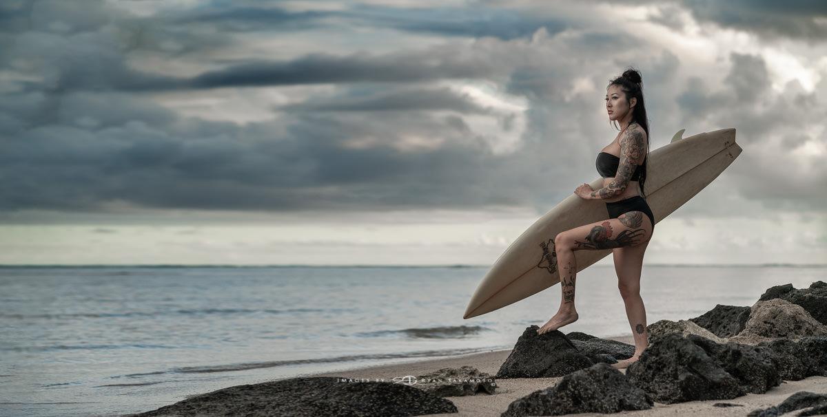 Copyright by Ryan Sakamoto, all rights reserved.Marie Kaenakapu Tora Tattoo Hawaii