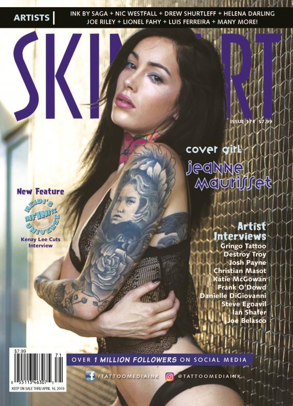 Courtesy of Tattoo Skin Art Magazine