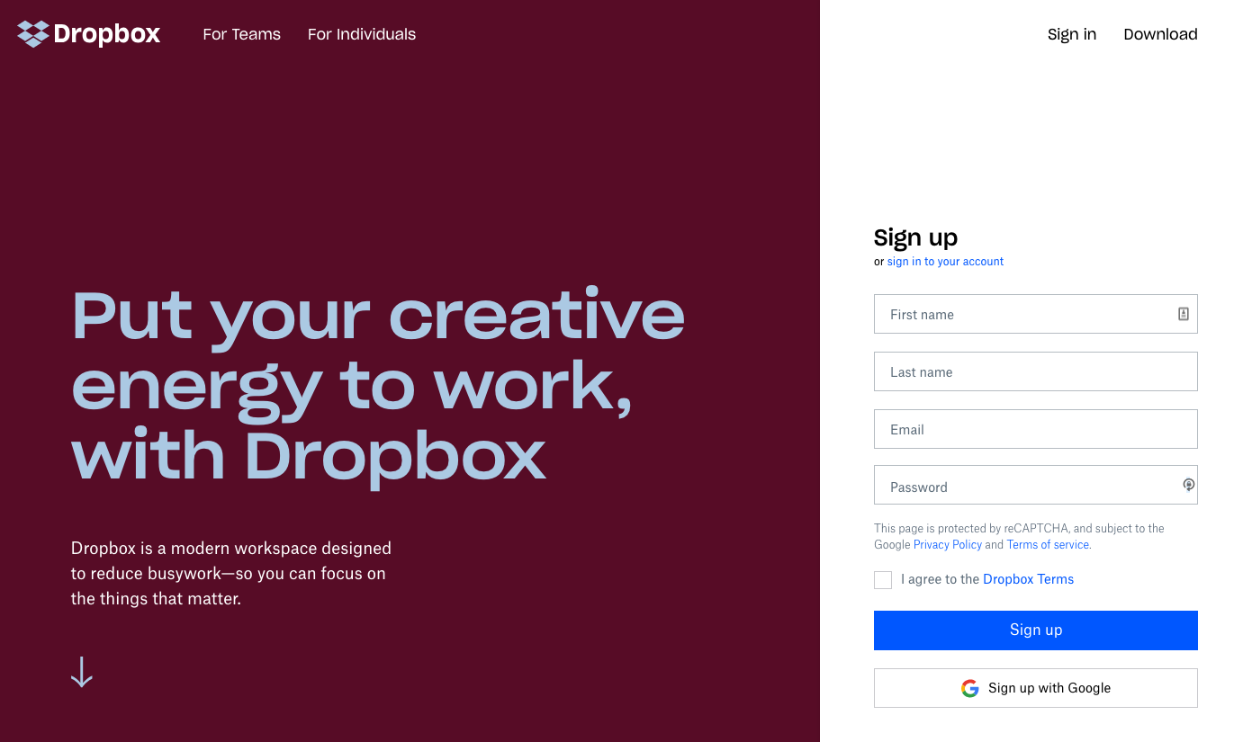 Dropbox Freelancer Tools