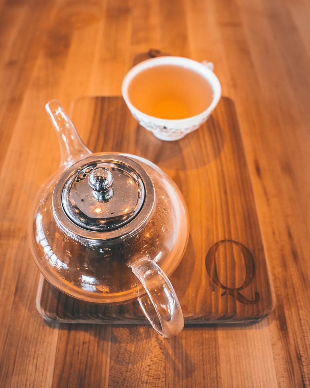 LOOSE LEAF TEAS BREWED TO PERFECTION!