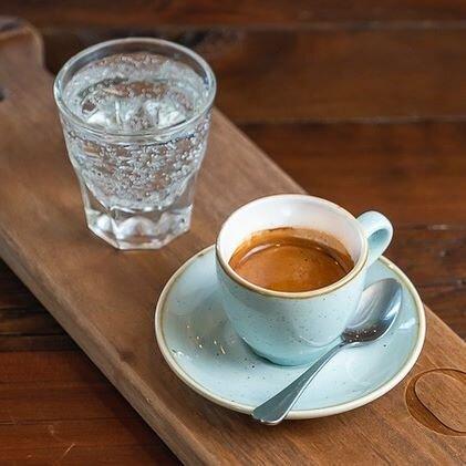 Espresso Doppio - For Here Of Course