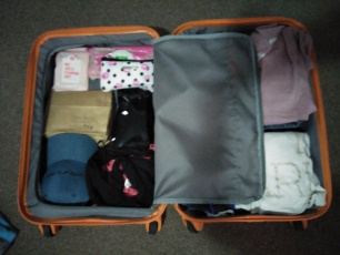 Sami Cooke suitcase