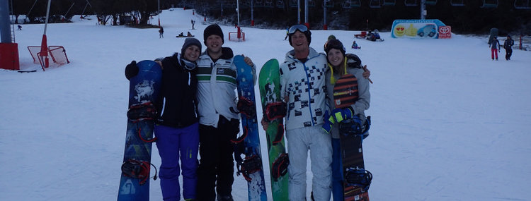 Snowboarding in Thredbo Sami Cooke
