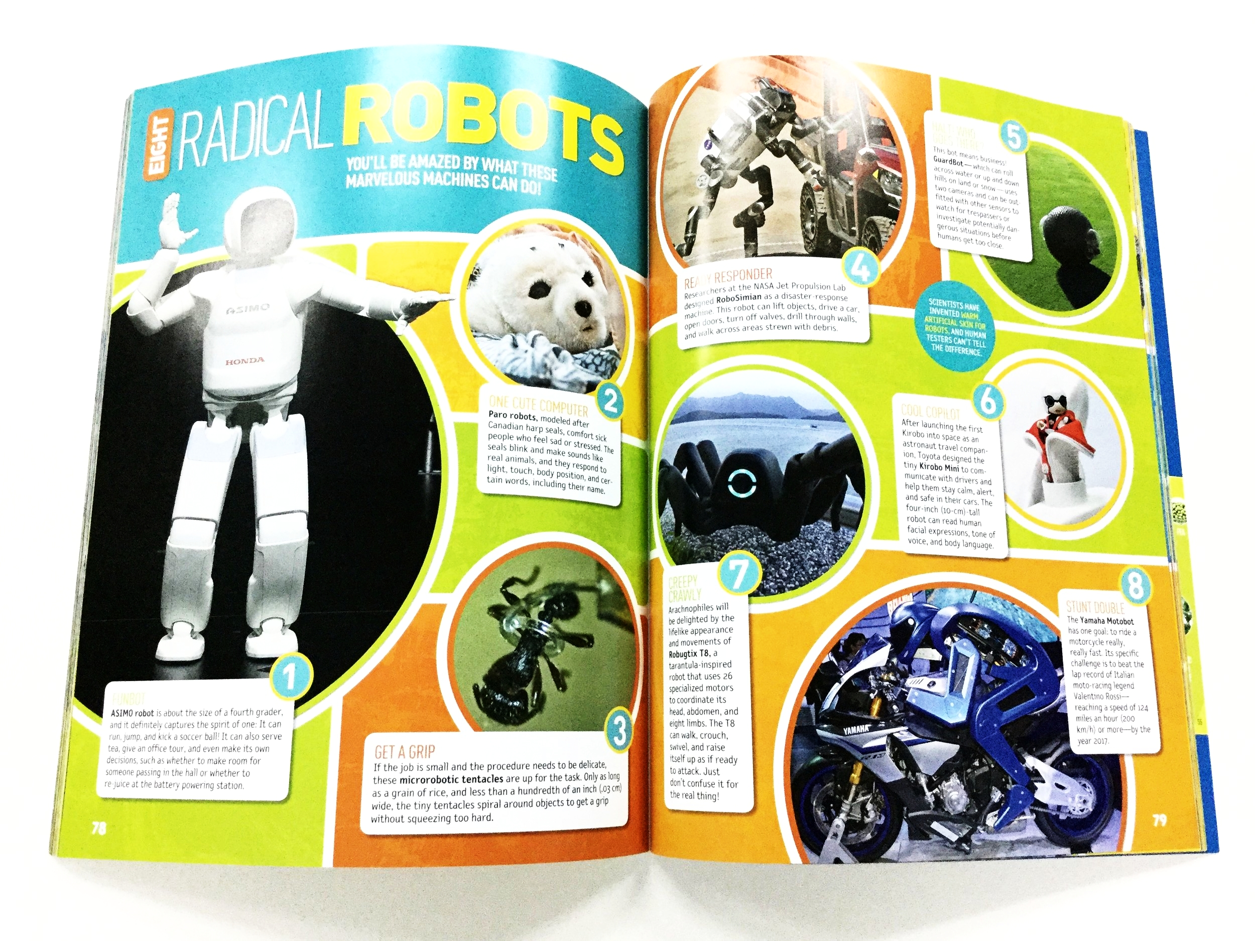 Awesome 8 Extreme (p.79) - The T8X inspiring future generations of roboticists