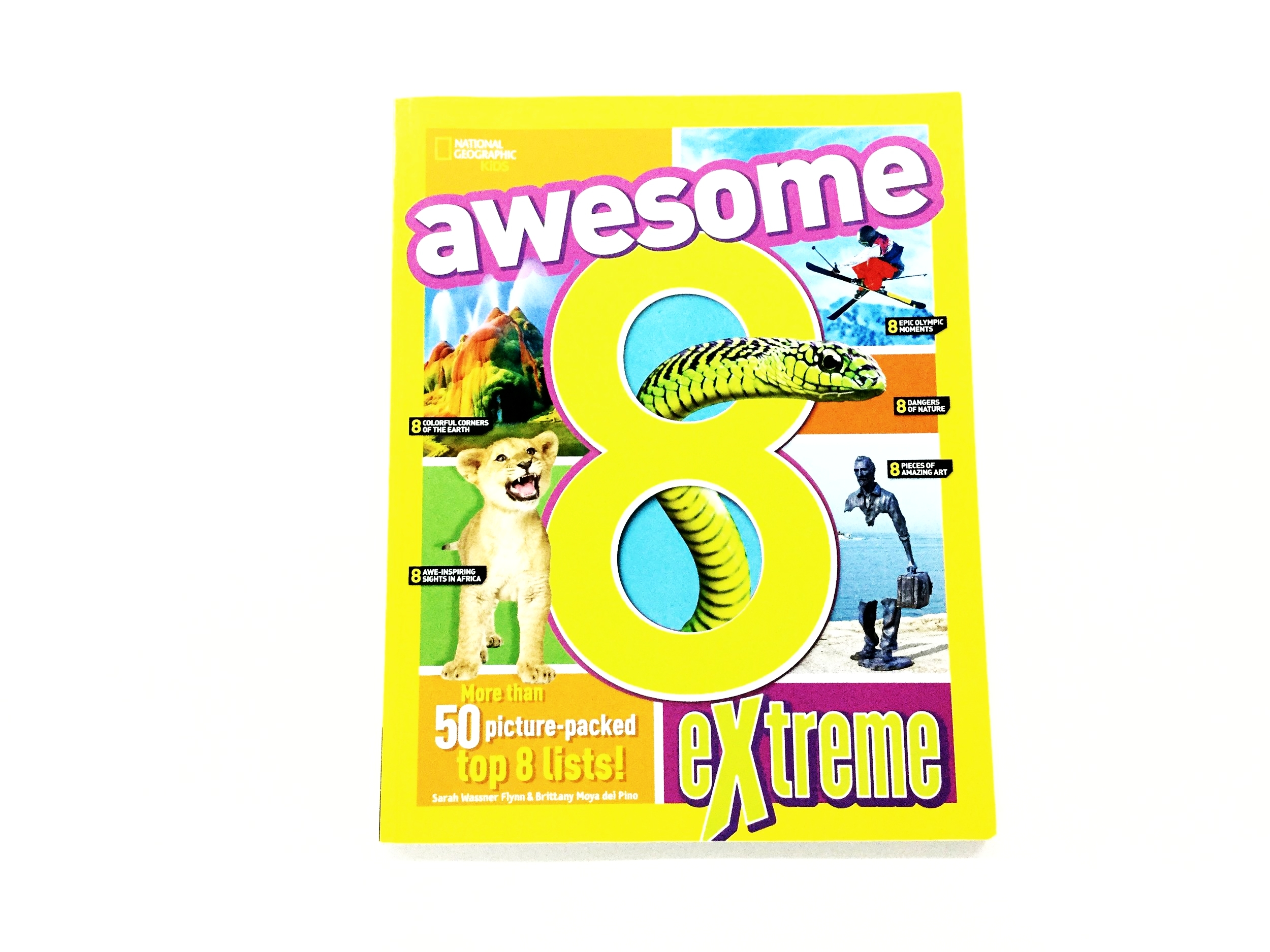 National Geographic Kids - Awesome 8 Extreme (Apr 2017 Cover)