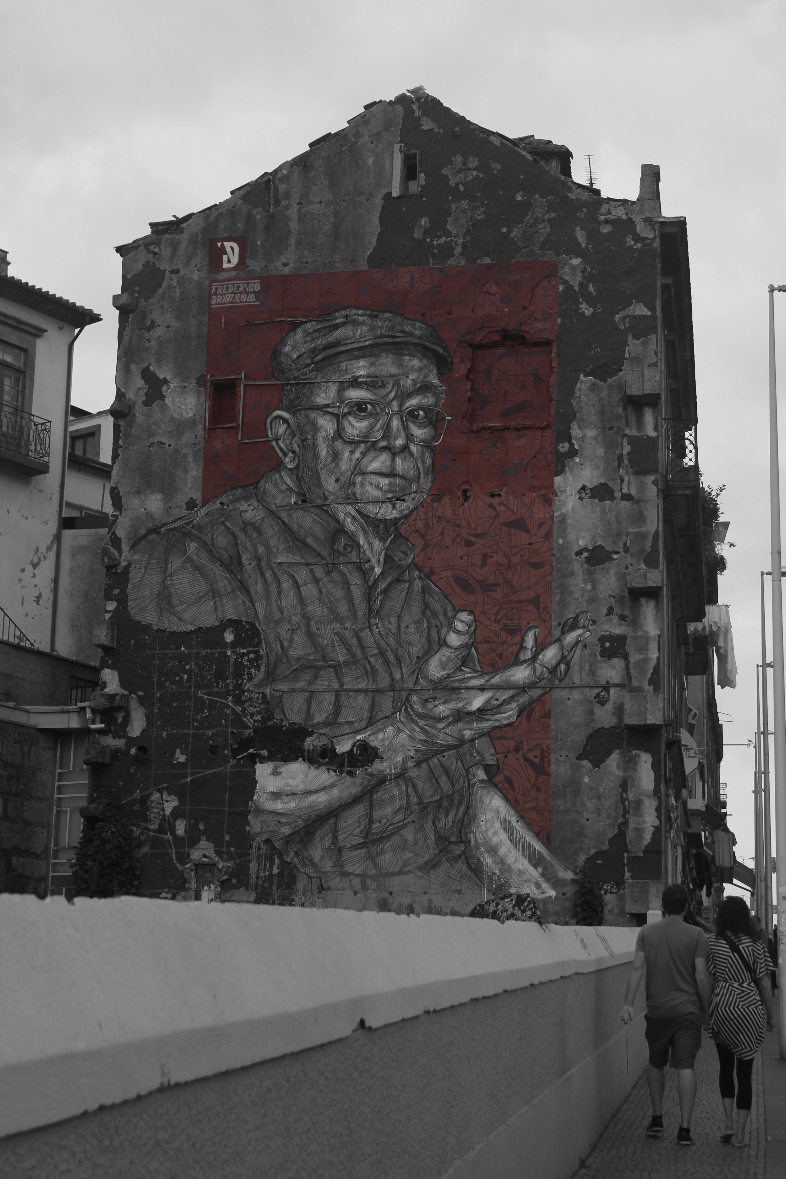 Wisdom in the city - Porto, Portugal (Captured by Emily Sproule)