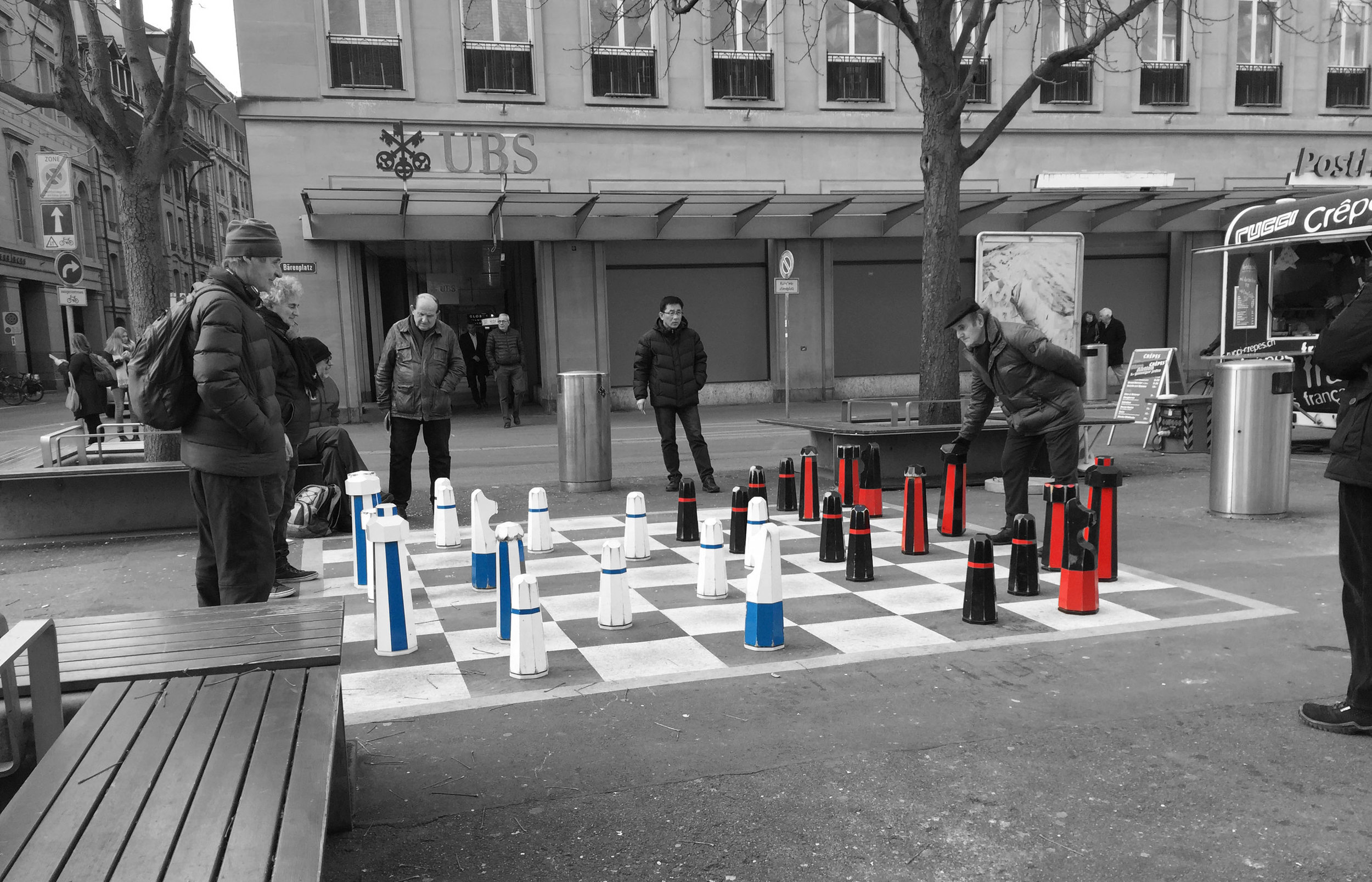 City Chess Game - Bern, Switzerland (Captured by Emily Sproule)